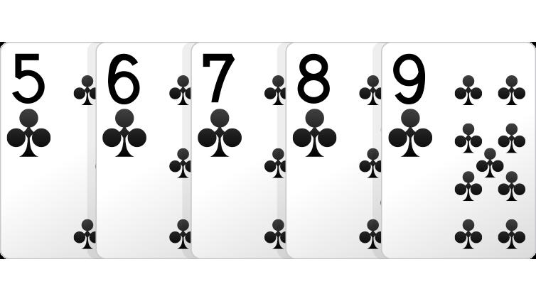Poker Hands Flush Tie